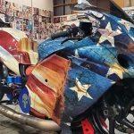 Motorcycle - USA Gas Tank